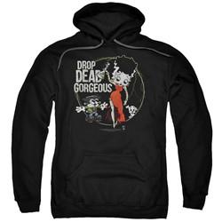Betty Boop - Mens Drop Dead Gorgeous Pullover Hoodie