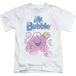 Mr Bubble - Youth 80S Logo T-Shirt