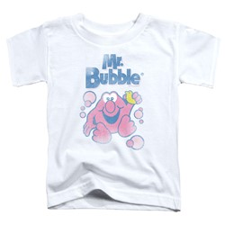 Mr Bubble - Toddlers 80S Logo T-Shirt