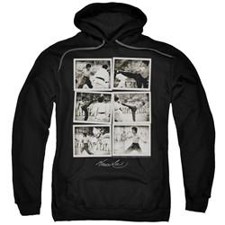 Bruce Lee - Mens Snap Shots Pullover Hoodie