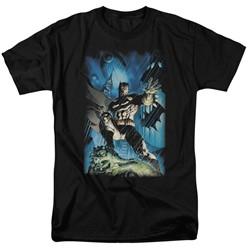 Batman - Mens Stormy Dark Knight T-Shirt
