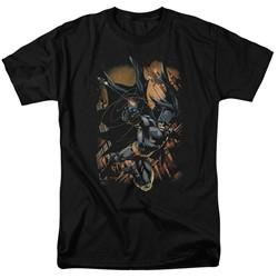 Batman - Mens Grapple Fire T-Shirt