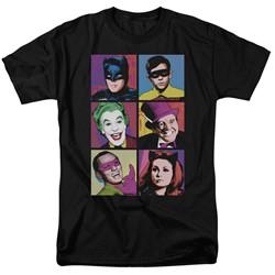 Batman Classic Tv - Mens Pop Cast T-Shirt