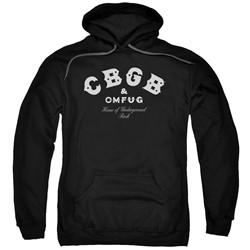 Cbgb - Mens Classic Logo Pullover Hoodie