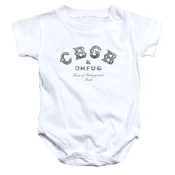 Cbgb - Toddler Club Logo Onesie