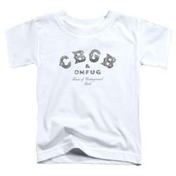 Cbgb - Toddlers Club Logo T-Shirt