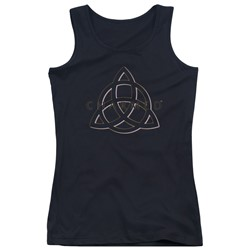 Charmed - Juniors Triple Linked Logo Tank Top