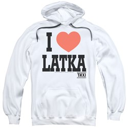 Taxi - Mens I Heart Latka Pullover Hoodie