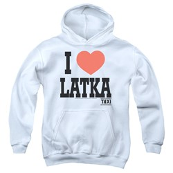 Taxi - Youth I Heart Latka Pullover Hoodie