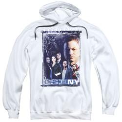 Csi Ny - Mens Watchful Eye Pullover Hoodie