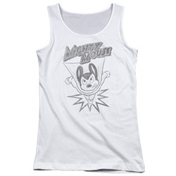 Mighty Mouse - Juniors Bursting Out Tank Top