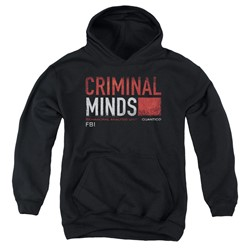 Criminal Minds - Youth Title Card Pullover Hoodie