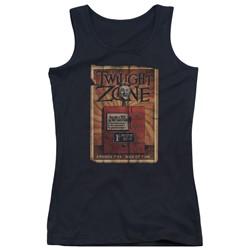 Twilight Zone - Juniors Seer Tank Top