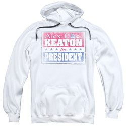 Family Ties - Mens Alex For President Pullover Hoodie