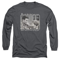 Andy Griffith - Mens Wise Words Long Sleeve T-Shirt