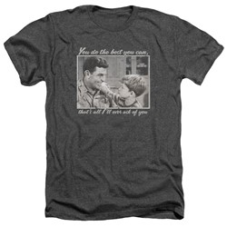Andy Griffith - Mens Wise Words Heather T-Shirt