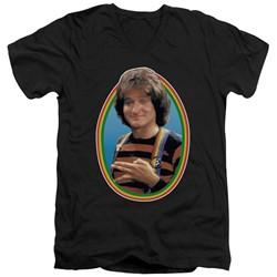 Mork & Mindy - Mens Mork V-Neck T-Shirt
