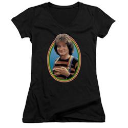 Mork & Mindy - Womens Mork V-Neck T-Shirt