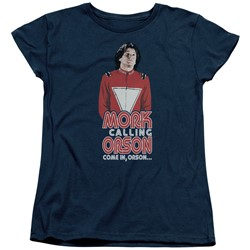 Mork & Mindy - Womens Come In Orson T-Shirt