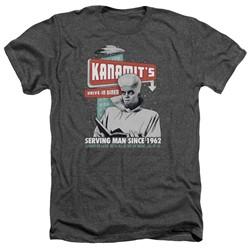Twilight Zone - Mens Kanamits Diner Heather T-Shirt