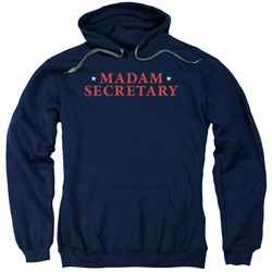 Madam Secretary - Mens Logo Pullover Hoodie