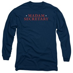 Madam Secretary - Mens Logo Long Sleeve T-Shirt
