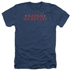 Madam Secretary - Mens Logo Heather T-Shirt