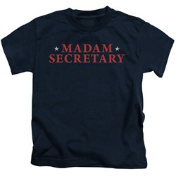 Madam Secretary - Little Boys Logo T-Shirt