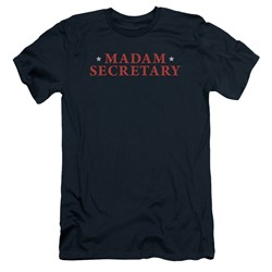 Madam Secretary - Mens Logo Slim Fit T-Shirt