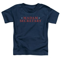Madam Secretary - Toddlers Logo T-Shirt