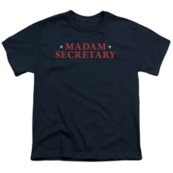 Madam Secretary - Big Boys Logo T-Shirt