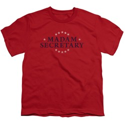 Madam Secretary - Big Boys Distress Logo T-Shirt