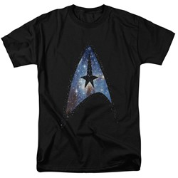 Star Trek - Mens Galactic Shield T-Shirt