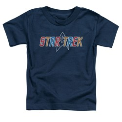 Star Trek - Toddlers Multi Colored Logo T-Shirt
