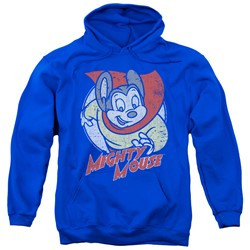 Mighty Mouse - Mens Mighty Circle Pullover Hoodie