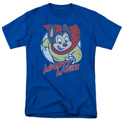 Mighty Mouse - Mens Mighty Circle T-Shirt