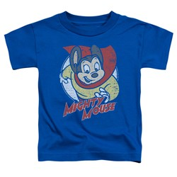 Mighty Mouse - Toddlers Mighty Circle T-Shirt