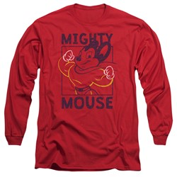 Mighty Mouse - Mens Break The Box Long Sleeve T-Shirt