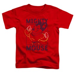 Mighty Mouse - Toddlers Break The Box T-Shirt