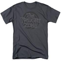 Twilight Zone - Mens Spiral Logo T-Shirt