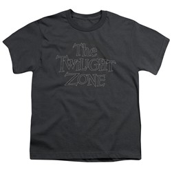 Twilight Zone - Big Boys Spiral Logo T-Shirt