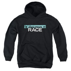 Amazing Race, The - Youth Bar Logo Pullover Hoodie