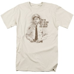 Andy Griffith - Mens No Jerk T-Shirt