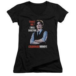 Criminal Minds - Womens Trust Me V-Neck T-Shirt