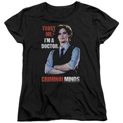 Criminal Minds - Womens Trust Me T-Shirt