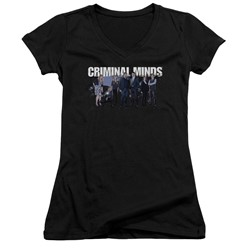 Criminal Minds - Womens Season 10 Cast V-Neck T-Shirt