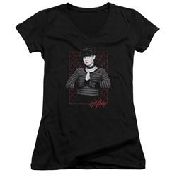 Ncis - Womens Abby Webs V-Neck T-Shirt