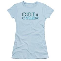 Csi: Cyber - Womens Cyber Logo T-Shirt