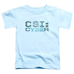 Csi: Cyber - Toddlers Cyber Logo T-Shirt