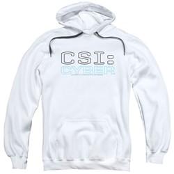 Csi: Cyber - Mens Logo Pullover Hoodie